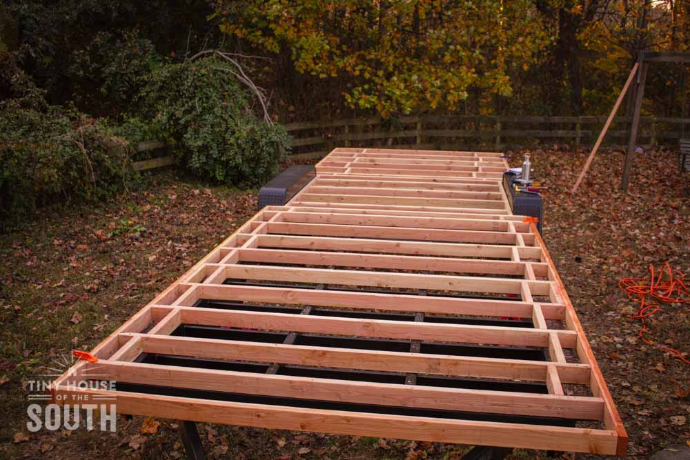 tiny house subfloor framing